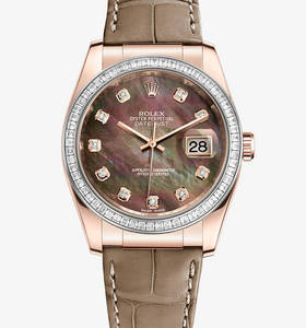 "Replica Rolex Datejust 36 mm Watch : 18 kt Everose gold - M11618"" title="" Replica Rolex Datejust 36 mm Watch : 18 kt Everose gold - M11618 "" width=""220"" height=""236"