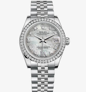 "Replica Rolex Datejust Lady 31 Watch : Hvid Rolesor - kombinatio"" title="" Replica Rolex Datejust Lady 31 Watch : Hvid Rolesor - kombinatio "" width=""130"" height=""139"