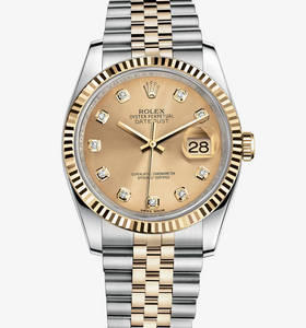 "Replica Rolex Datejust Watch : Gul Rolesor - kombination af 904L"" title="" Replica Rolex Datejust Watch : Gul Rolesor - kombination af 904L "" width=""220"" height=""236"