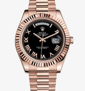"Replica Rolex Day-Date II Watch : 18 kt Everose gold - M218235 -"" title="" Replica Rolex Day-Date II Watch : 18 kt Everose gold - M218235 - "" width=""220"" height=""236"