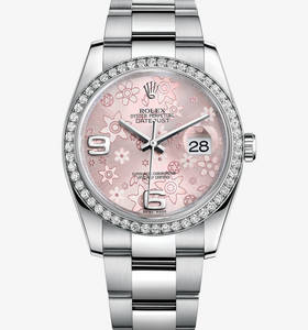 Replica Rolex Datejust 36 mm Watch : Hvid Rolesor - kombination