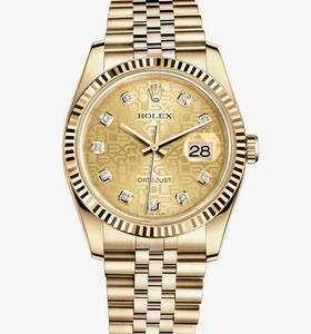 Replica Rolex Datejust 36 mm Watch : 18 karat guld - M116238 - 0