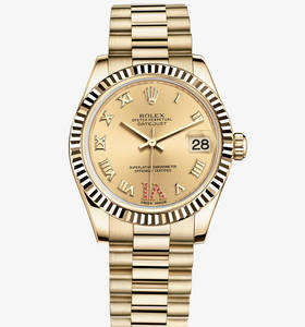 Replica Rolex Datejust Lady 31 Watch : 18 karat guld - M178278 -