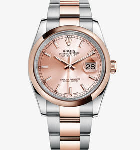 Replica Rolex Datejust Watch : Everose Rolesor - kombination af