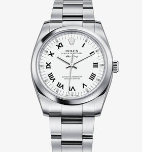 Replica Rolex Air -King Ur : 904L stål - M114200 - 0005